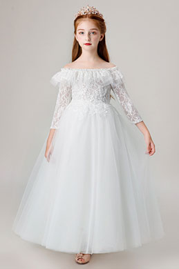 eDressit Princess Off Shoulder Children Wedding Flower Girl Dress (27205707)