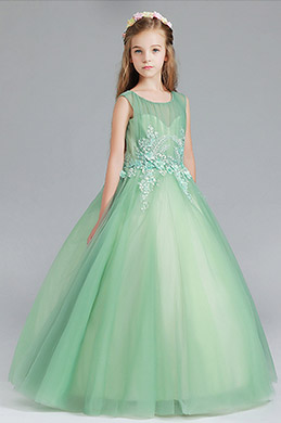 eDressit Green Children Wedding Flower Girl Dress (27199404)