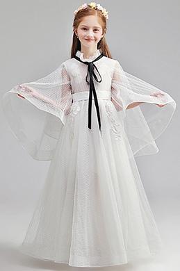 eDressit Romantique Robe de Demoiselle d'Honneur Blanche (27197107)