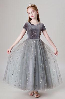 eDressit Round Neck Bling Bling Children Flower Girl Dress (27205108)