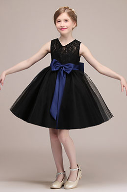 eDressit Bowknot Short Wedding Flower Girl Dress (28192400)