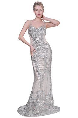 eDressit New V-Cut Shiny Beads Formal Party Evening Dress (02191714)
