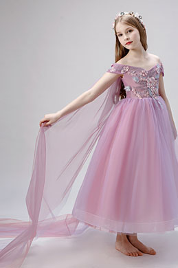eDressit Off Shoulder Children Wedding Flower Girl Dress (27206701)