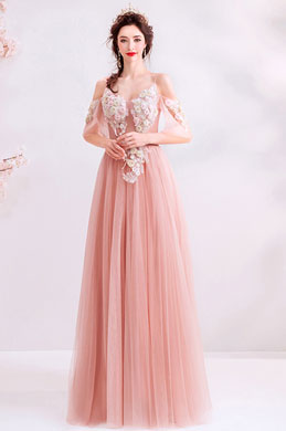 eDressit Pink Spaghetti Floral Embroidery Women Party Dress (36221801)