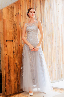 eDressit Illusion Neck Embroidery Long Party Prom Dress (36221926)