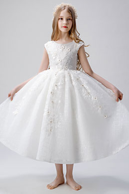 eDressit Cap Sleeves Children Wedding Flower Girl Dress (27206807)