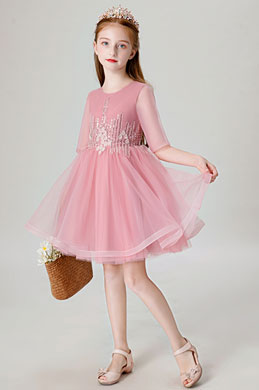 eDressit Lovely Tulle Wedding Flower Girl Dress (28202301)