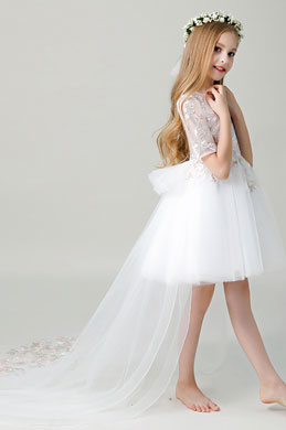 eDressit Embroidery Wedding Flower Girl Dress (28201407)