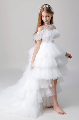 eDressit Tulle Multi-layer Wedding Flower Girl Dress (28201207)