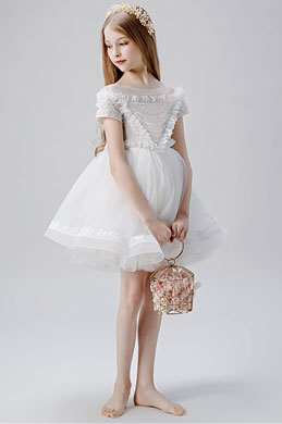 eDressit Lovely Tulle Wedding Flower Girl Dress (28204007)