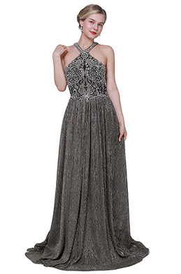 eDressit Sexy Halter Beaded Formal Prom Evening Dress (00192508)