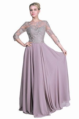 eDressit New Half Sleeves Formal Mother of the Bride Dress (26191946)