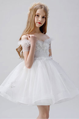 eDressit Off Shoulder Children Wedding Flower Girl Dress (28203607)