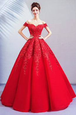 eDressit Empire Red Off Shoulder Evening Dress Prom Dress (36221502)