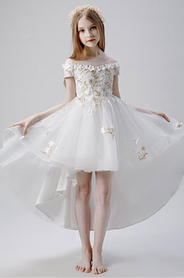 eDressit High Quality Embroidery Wedding Flower Girl Dress (28204507)