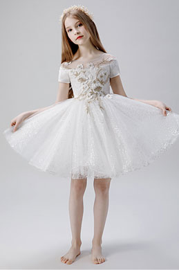 eDressit Bling Bling Children Wedding Flower Girl Dress (28204307)