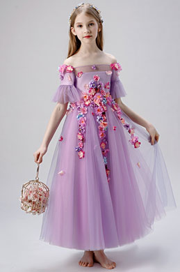 eDressit Princess Off Shoulder Wedding Flower Girl Dress (27207606)