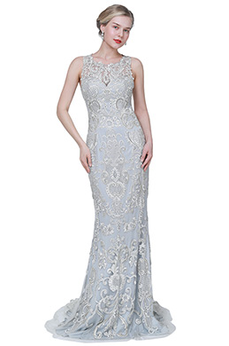eDressit New Blue Unique Lace Applique Party Evening Dress (02193232)