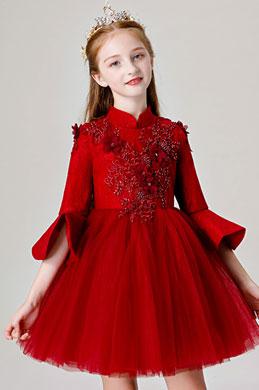 eDressit High Neck Children Wedding Flower Girl Dres (28201617)