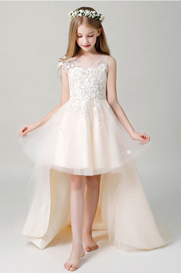eDressit V-cut Children Wedding Flower Girl Dress (28201514)