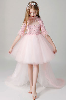 eDressit Princess Pink Children Wedding Flower Girl Dress (28200901)