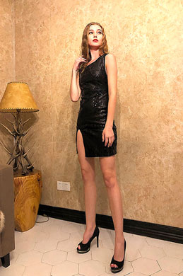 eDressit Sexy Black Sequins Night Party Cocktail Dress (35198400)
