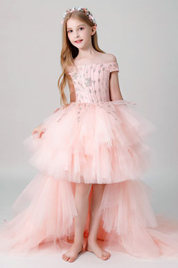 eDressit Pink Children Wedding Flower Girl Dress (28200801)