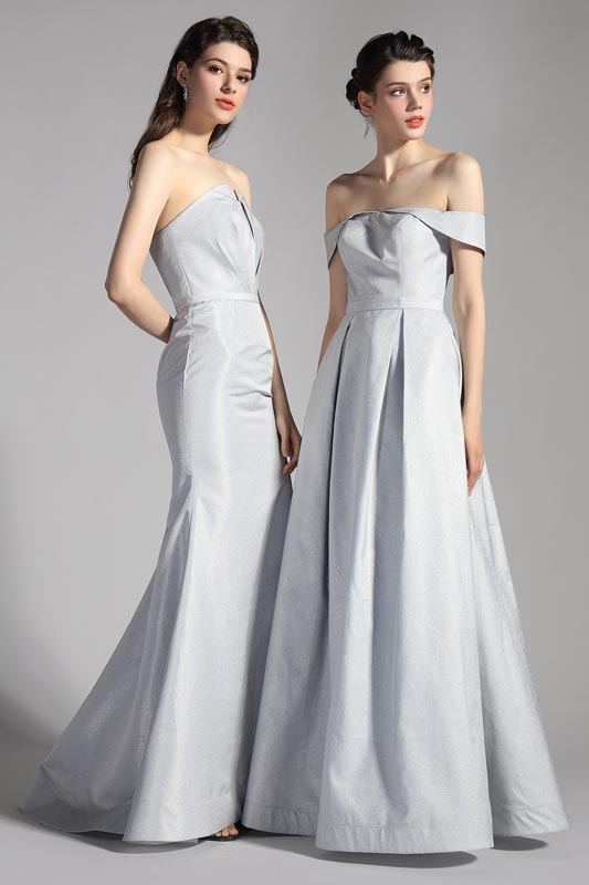eDressit Sexy Grey Off Shoulder Long Party Evening Dress (02203808)