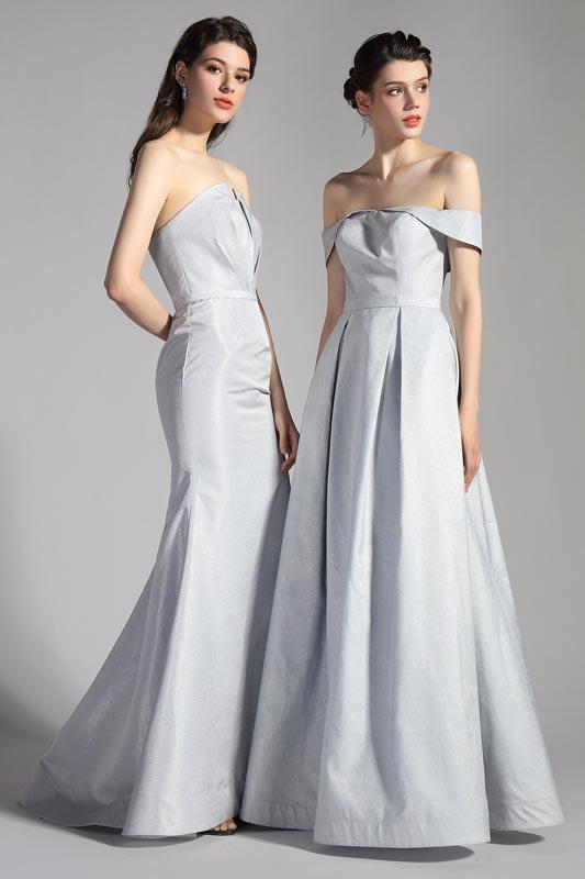 eDressit Sexy Grey Off Shoulder Long Party Evening Dress (02203808)