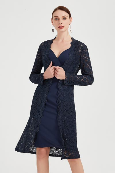 eDressit Unique 2 piece Lace Jacket Cocktail Skirt Fashion Dress (26201205)