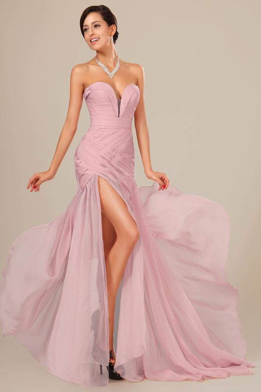 eDressit Best Selling Chiffon Ruched bodice Evening Dress (00120546)