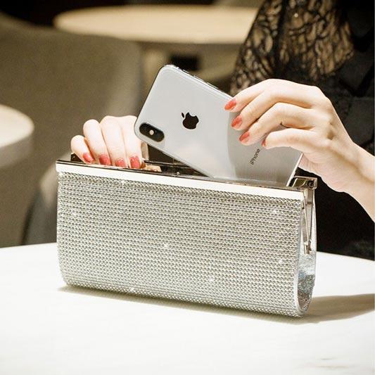 Shining Crystal/ Rhinestone/Sparkling Handbag Evening Bag (T08002)
