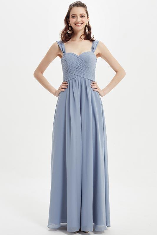 eDressit Sexy Two Straps Ruched Bodice Wedding Bridesmaid Dress (07216032)