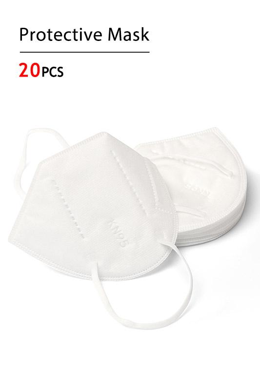 20 pcs KN95 Protective Mask Filtration Efficiency ≥ 95% (Mask007)