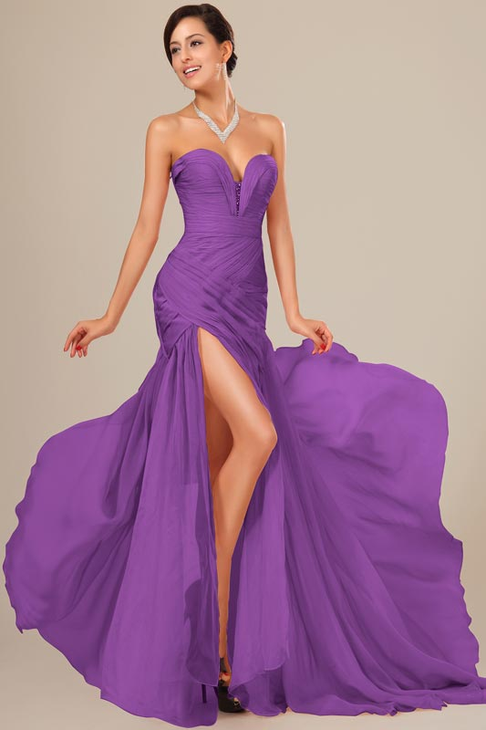 eDressit Best Selling Chiffon Ruched bodice Evening Dress (00120506)