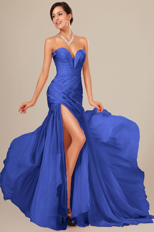 eDressit Best Selling Chiffon Ruched bodice Evening Dress (00120544)