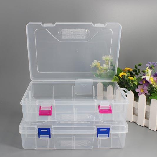 eDressit Transparent Rectangular Plastic Empty Box Packaging Box (TB0003)