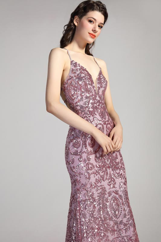 eDressit Spaghetti V-Cut Gorgeous Beaded Party Prom Dress (02204646)