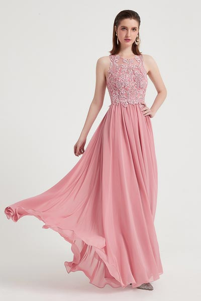eDressit Sexy Sleeves Roud Neck Embroidery Party Evening Dress (02203001)