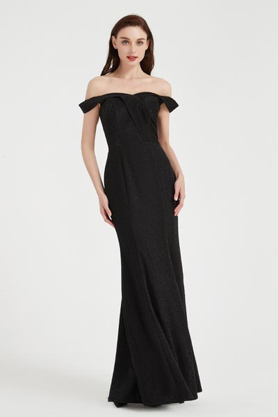 eDressit Sexy Black OFF Shoulder Elegant  Party Evening Dress (02203700)