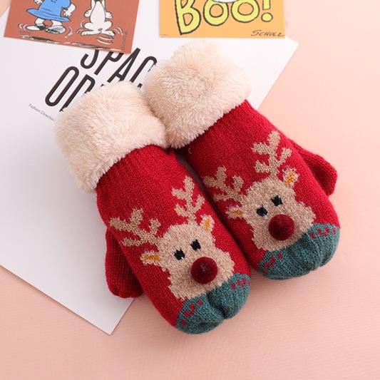 eDressit Christmas Gloves Cute Outdoor Children Glovers (TE0002)