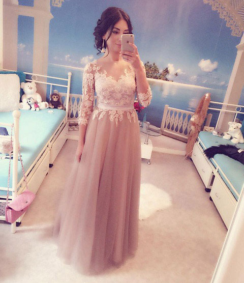 Princess lovely dress for wedding