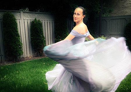 Long A-line Prom Dress Bridesmaid Dress