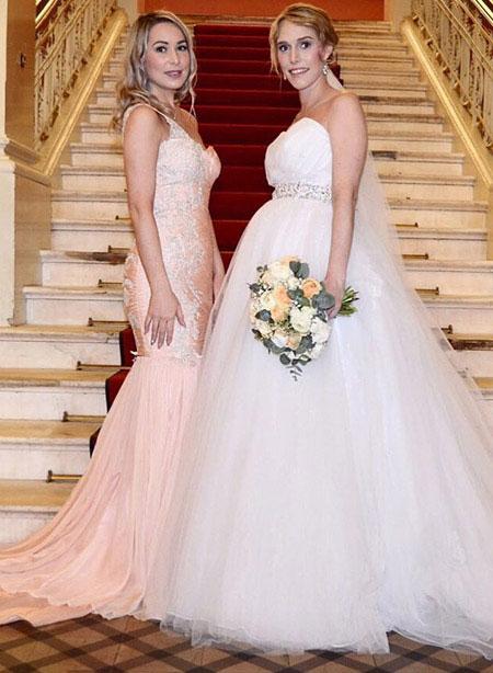 Elegant One Shoulder Long Prom Dress Mermaid