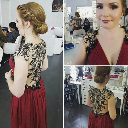 eDressit V Neck Delicate Embroidery Evening Gown