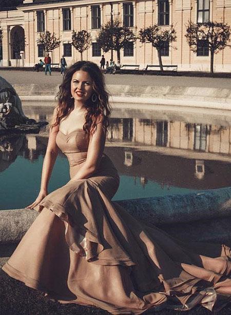 Mermaid Prom Evening Dress Long