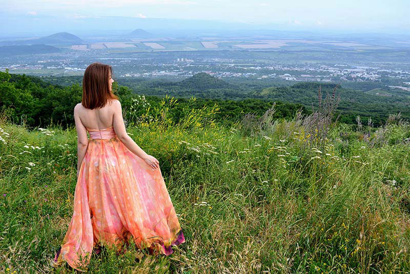 Halter Neck Printed Dress Holiday Dress