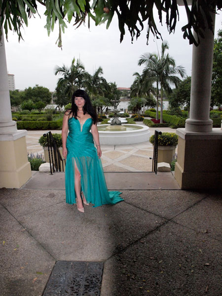 Vestido de fiesta sin tirantes, vestido largo para la boda