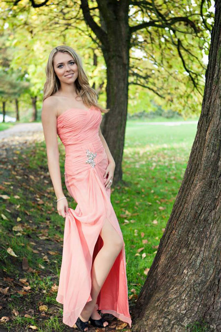 Graceful Sweetheart Evening Dress Prom Gown