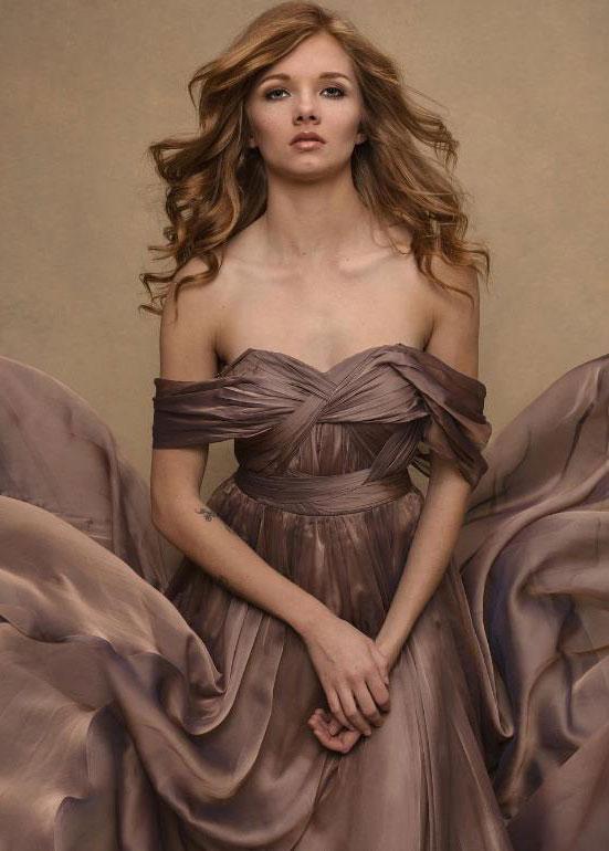 eDressit Chiffon Ruched bodice Evening Dress